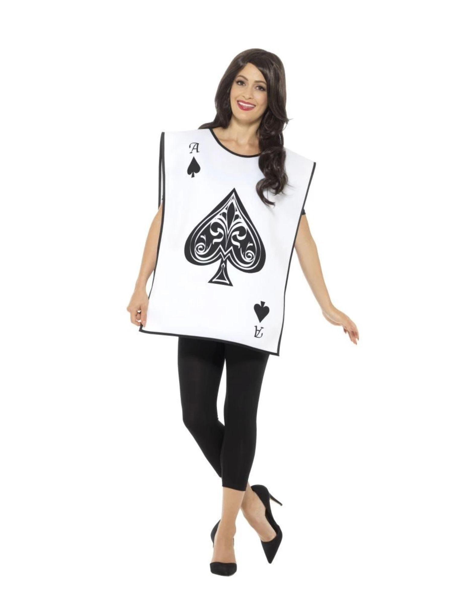 Men/'s Women/'s Carded Guard Fancy Dress Costume Play Your Cards Right Stag Hen Do