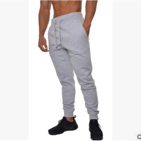 Men;acute;s Gym Sports Urban Straight Leg Pants Casual Pencil Jogger Cargo Trousers
