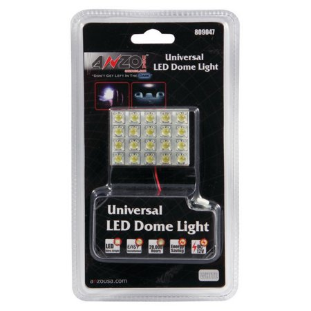 Universal Dome - ANZO LED Dome Light Universal LED Dome Light - High Powered LED Universal 2in x 1.5in