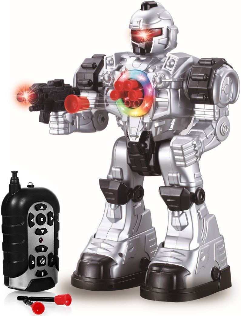 Remote Control Robot Toy Robots For Kids Superb Fun Toy Toy Robot Shoots Missiles Walks... by Play22?