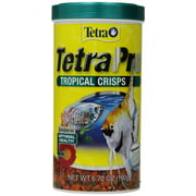Tetra TetraPro Tropical Fish Food Crisps, 2.37 oz
