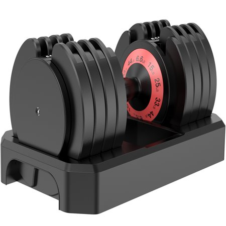 Campmoy Adjustable Dumbbell 6.5-44 lbs for Home Gym Now $119.99 (Was $300)