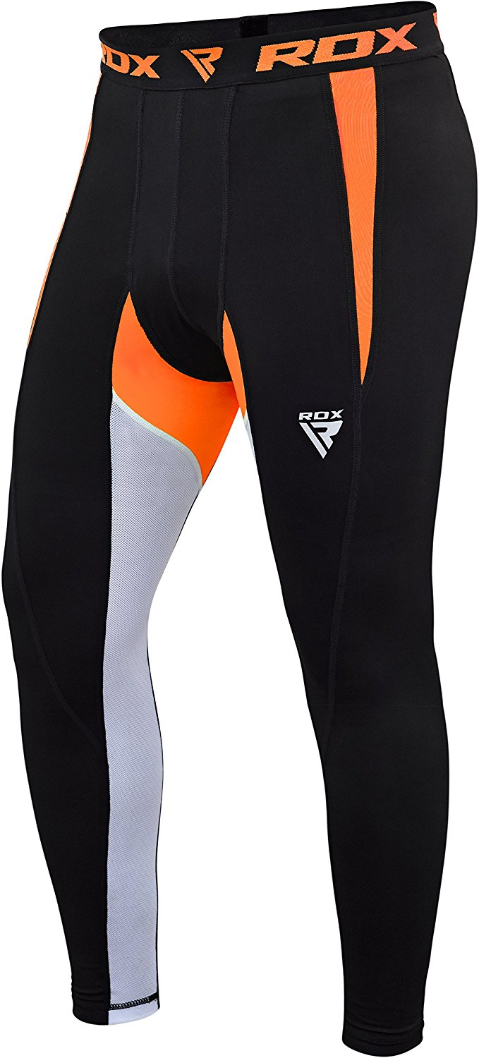RDX MMA Compression Pants Base Layer Fitness Training Tights Sports Workout by RDX