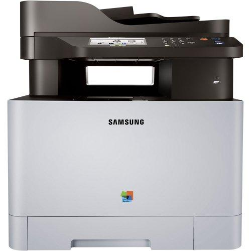 Samsung Xpress C1860fw Laser Multifunction Printer - Color - Plain Paper Print - Desktop - Copier/fax/printer/scanner - 19 Ppm Mono/19 Ppm Color Print - 9600 X 9600 Dpi Print - (sl-c1860fw-xaa)