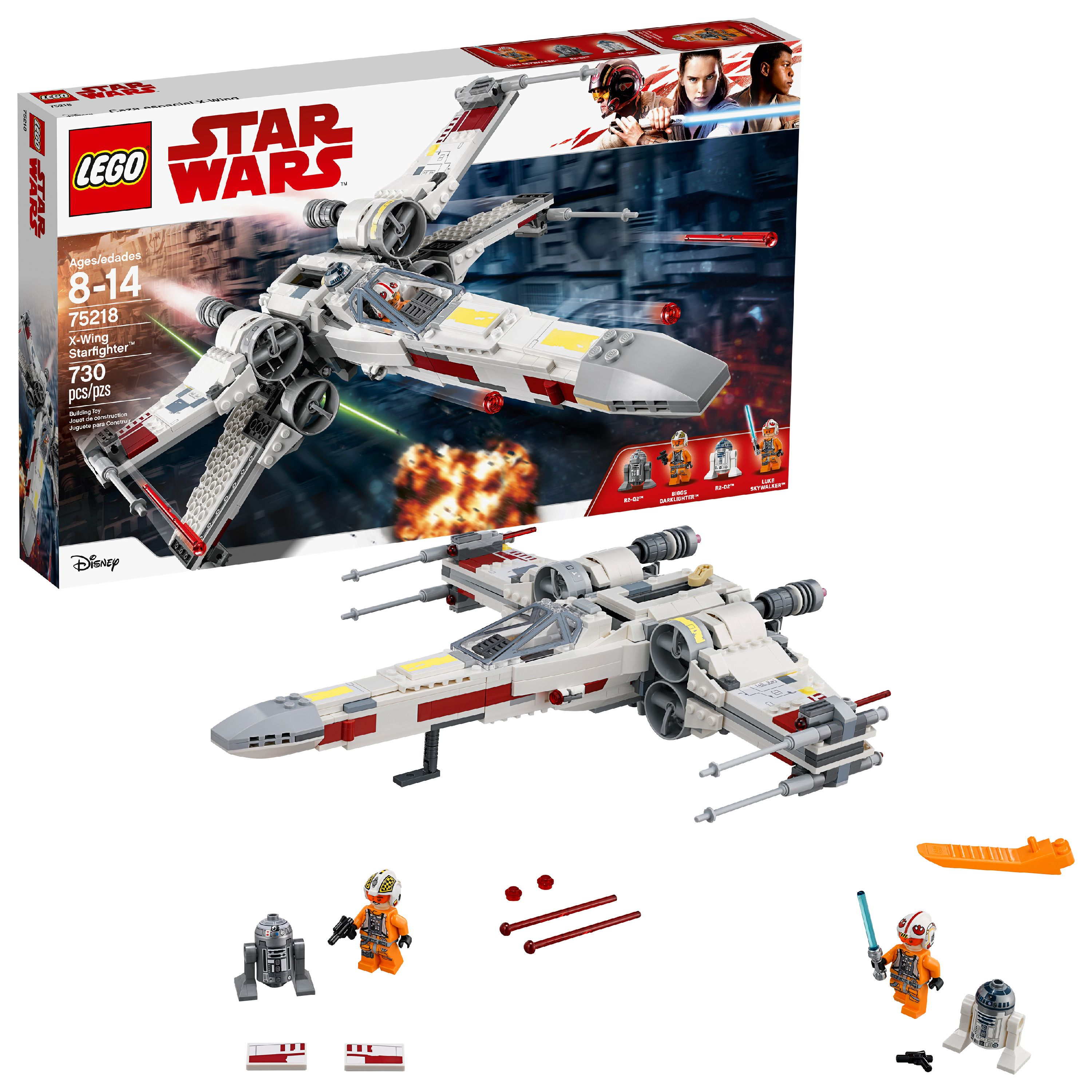 LEGO Star Wars TM X-Wing Starfighter 75218 Building Set