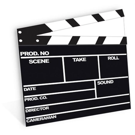 Star Cutouts SC161 Film Clapper Cardboard Cutout Standup - image 1 of 1