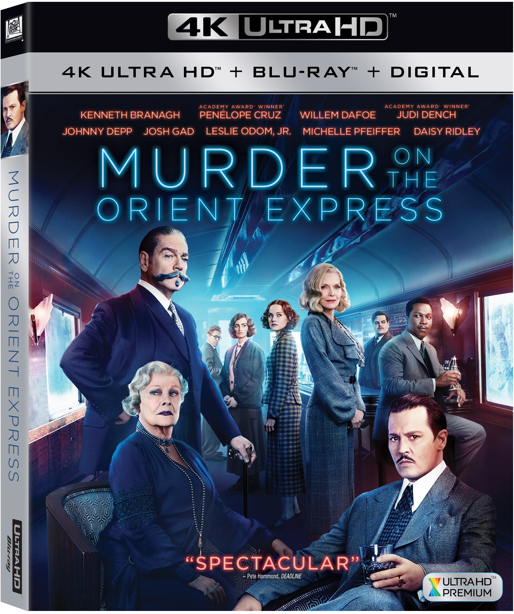 Murder on the Orient Express (4K Ultra HD + Blu-ray + Digital) by