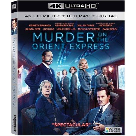 Murder on the Orient Express (4K Ultra HD + Blu-ray +