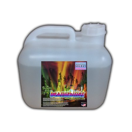 Beam Splitter   Professional Water Based Haze Juice   Premium Haze Machine Fluid   2 5 Gallon Square