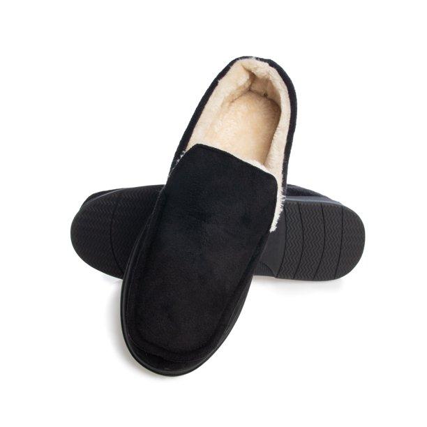 GOLDTOE - Gold Toe Mens Slippers Memory Foam House Slippers Antislip Wam  Slip on Loafers - Walmart.com - Walmart.com