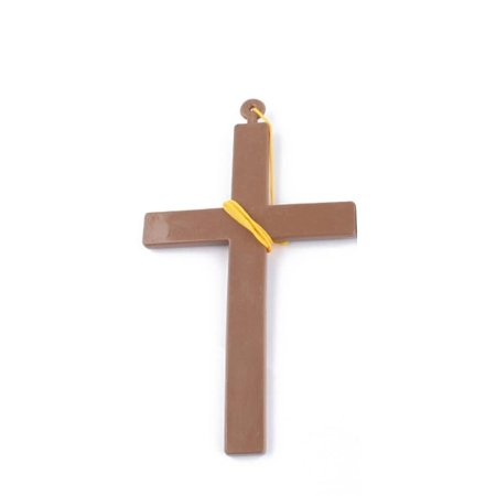 cnmodle Halloween Decoration Priest Nun Jesus Cross Masquerade Prop Cosplay - Halloween Cross