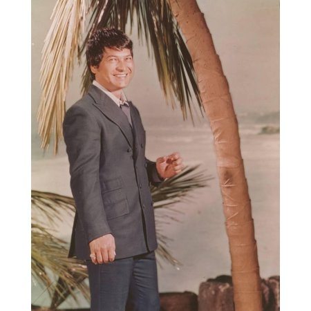 Don Ho posed in Formal Suit Print Wall Art By Movie Star News - Pope Suit
