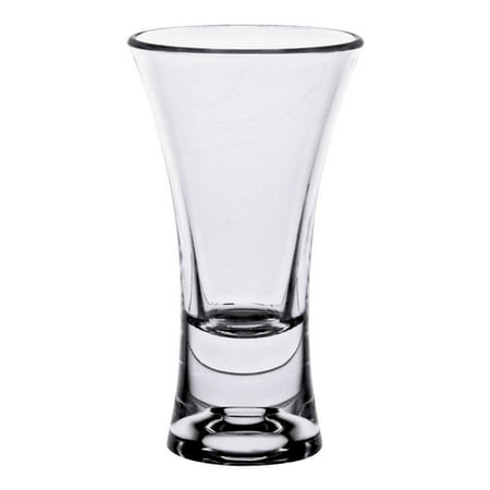 2 Oz Flair Design Shot Glass with Heavy Base/Set of 24