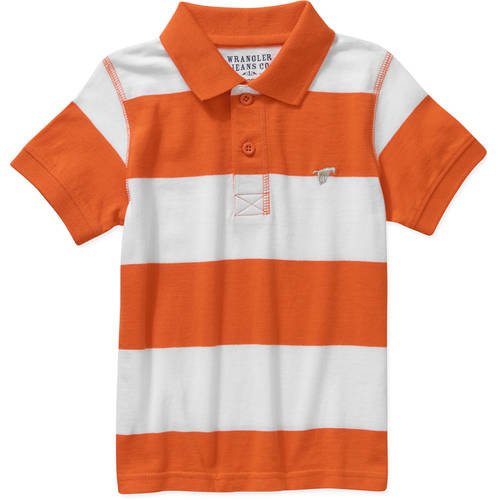 Wrangler Toddler Boy Short Sleeve Polo Shirt