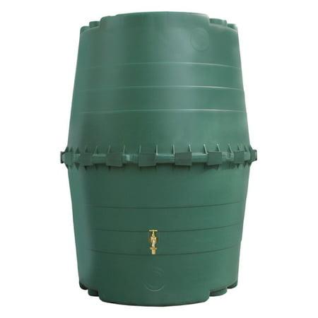 Exaco Top Tank 345 Gallon Commercial-Grade Rain Barrel