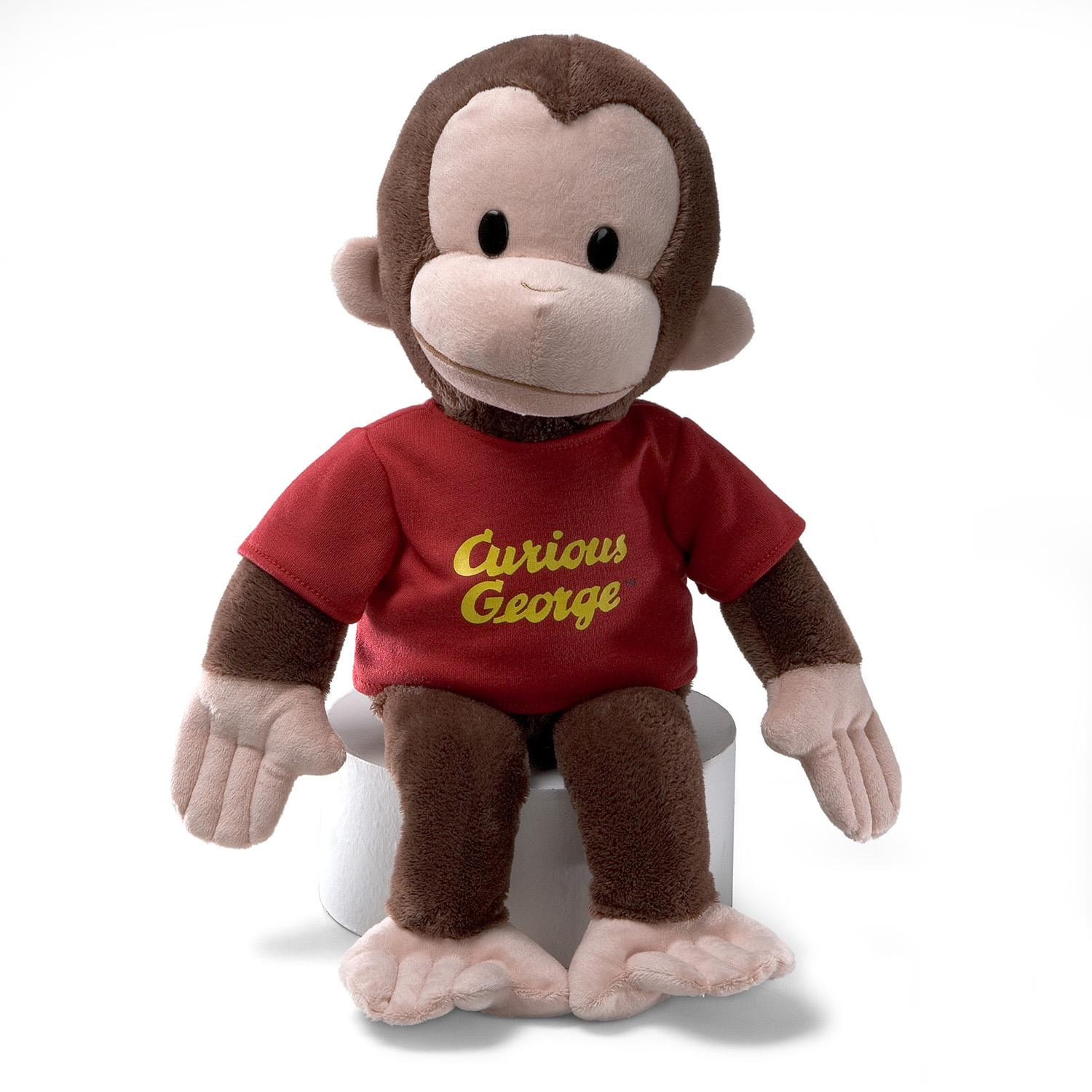 Curious George Plush 16in Red (Other) by Gund