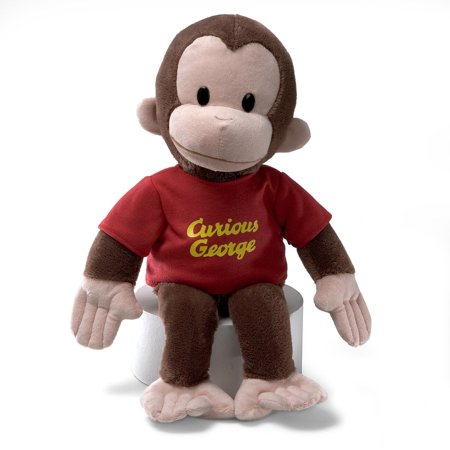 Curious George Plush 16in Red - Curious George Doll