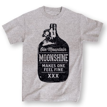 Tennessee Moonshine Men Adult Short Sleeve Tee