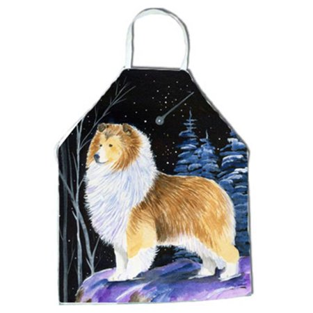Starry Night Sheltie Apron - 27 x 31 in. - image 1 of 1