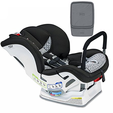 Britax Marathon ClickTight ARB Convertible Car Seat Ollie With Vehicle Protector Set