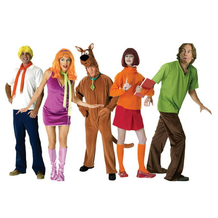 Adult Scooby Doo Group Costume (Daphne Dress Scooby Doo)