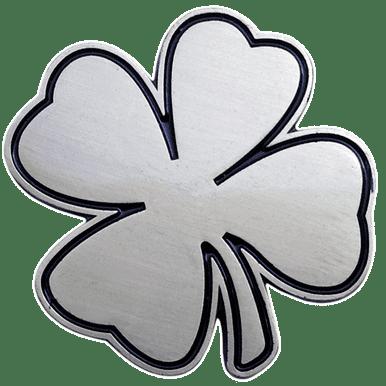 ReadyGolf - Lucky Charm Ball Marker & Hat Clip - Four-Leaf Clover