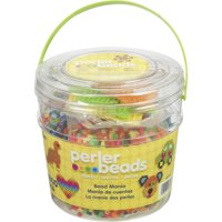 Deals on Perler Beads Fuse Bead Activity Bucket for Arts and Crafts, 8500 Beads