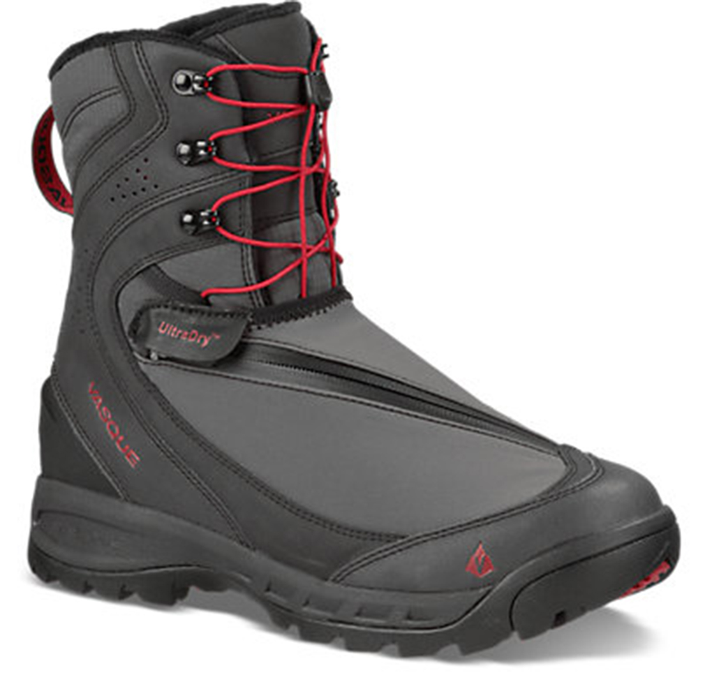 Vasque Men's Arrowhead Pull-On Black Snow Boot 7 M