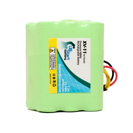Neato XV-11 Battery, Filters, Blades and Squeegee - Kit Includes Neato Battery, 2 Filters, 6 Blades and 1 Squeegee (3500mAh, 7.2V, NI-MH) - image 1 de 4