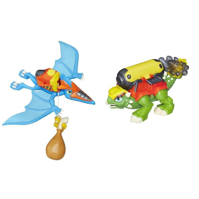 Hasbro HSBE2759 Playskool Heroes Chomp Squad Construction Crew, Pack of 2 6 Count by Hasbro