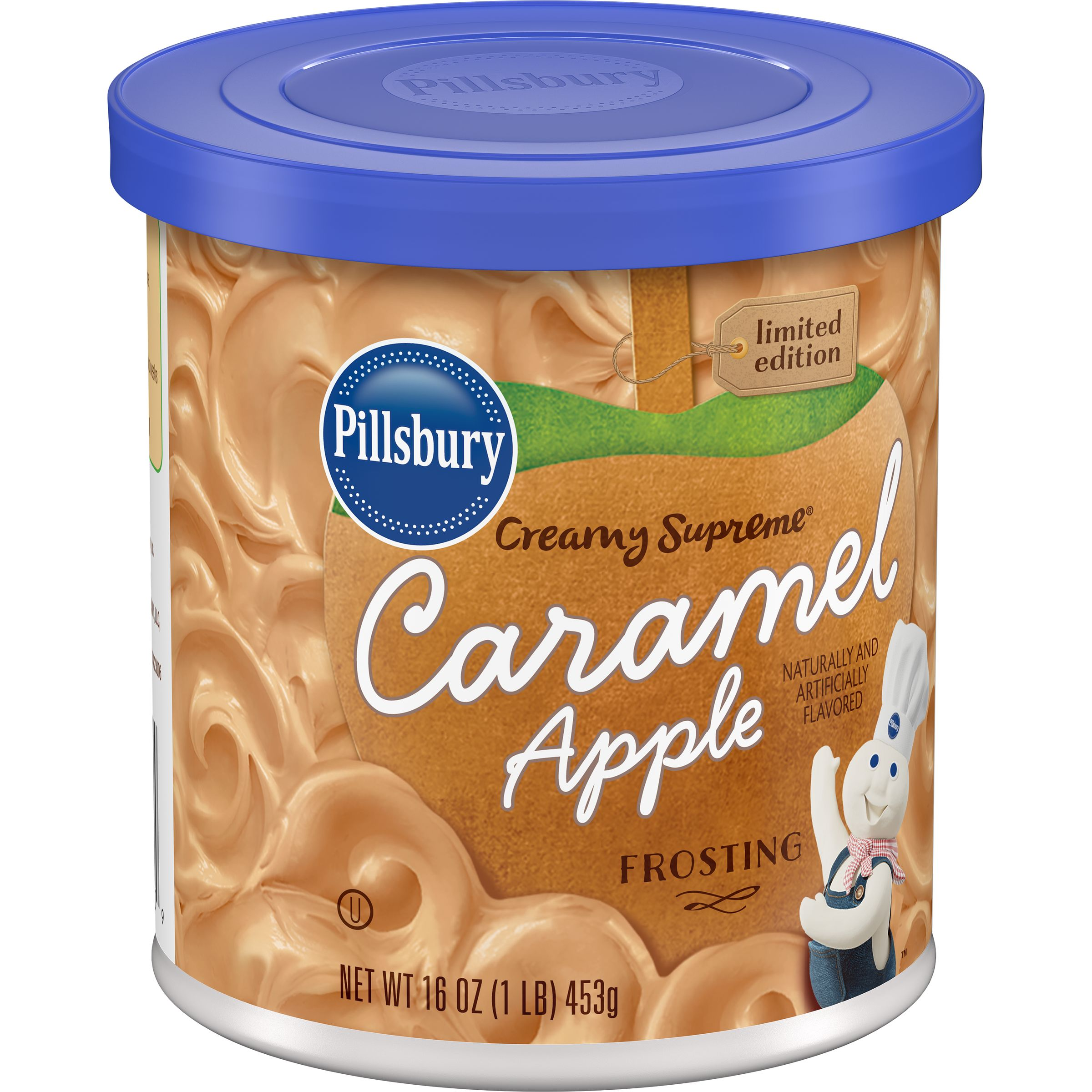 Pillsbury Creamy Supreme Caramel Apple Flavored Frosting, 16-Ounce