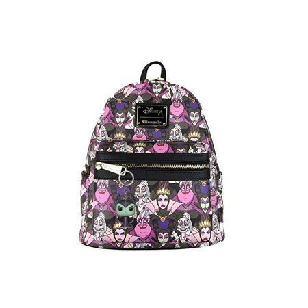 7f16d310ab8 Loungefly - Disney Villains Maleficent Loungefly Mini Backpack Bonus Funko  Mystery Keychain - Walmart.com