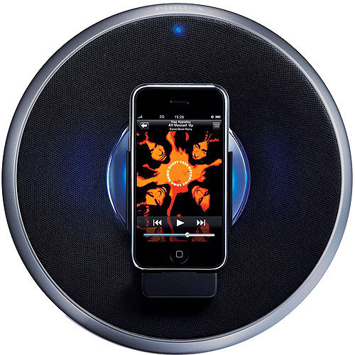 Philips SBD7000/37 Rock-n-Roll Speaker Dock for iPhone/iPod