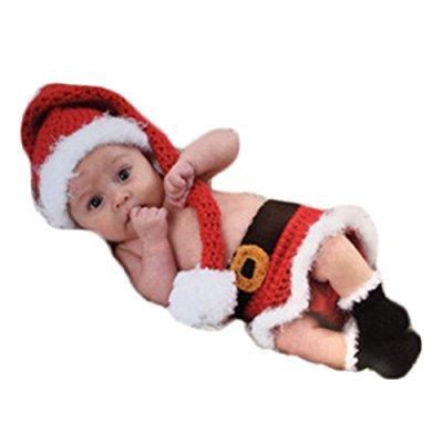 1487e06fa32 ... newborn baby photography props boy girl photo shoot outfits crochet knit  cute hat skirt boots photo