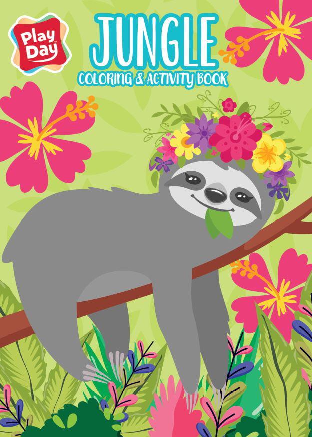 JUNGLE JUMBO COLORING BOOK - Walmart.com - Walmart.com