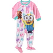 Despicable Me Toddler Girl Footed Pajamas