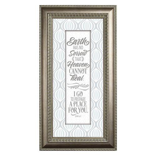 The James Lawrence Company Earth Has No Sorrow Framed Textual Art Walmart Com Walmart Com