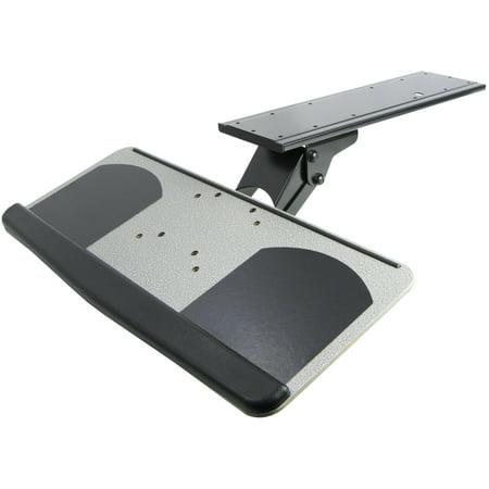 VIVO Adjustable Computer Keyboard & Mouse Platform Tray Under Table Desk Mount