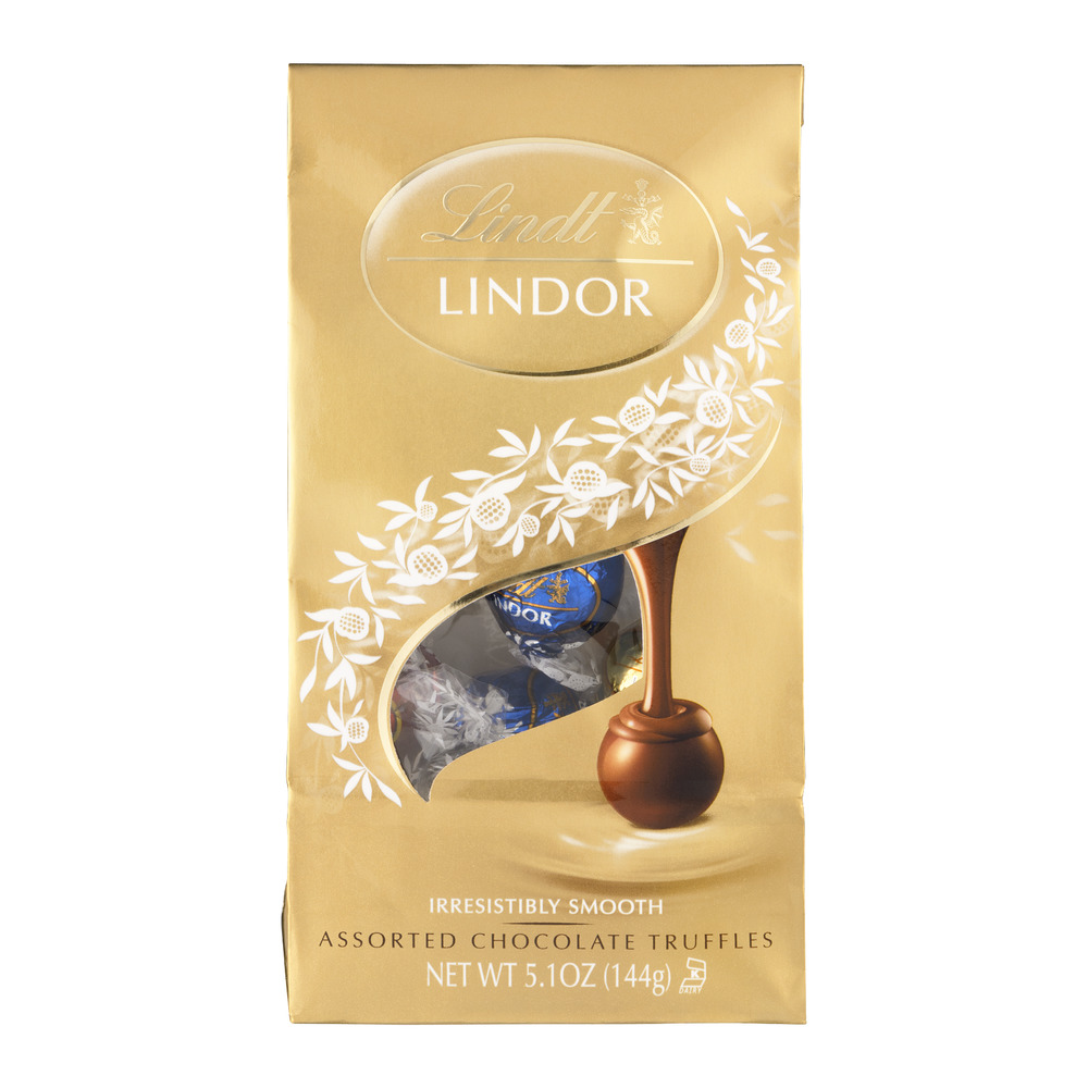 Lindt Lindor Assorted Chocolate Truffles, 5.1 OZ