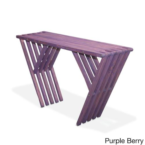Eco Friendly Console Table X60 Made in USA Purple Berry