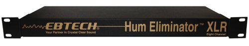 Ebtech Hum Eliminator 8 Ch Rack W Xlr by Morley