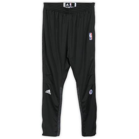 Alex Poythress Philadelphia 76ers Player-Issued #5 Gray Button Down Pants vs. New York Knicks On April 12, 2017 - Size XL +2 - Fanatics Authentic