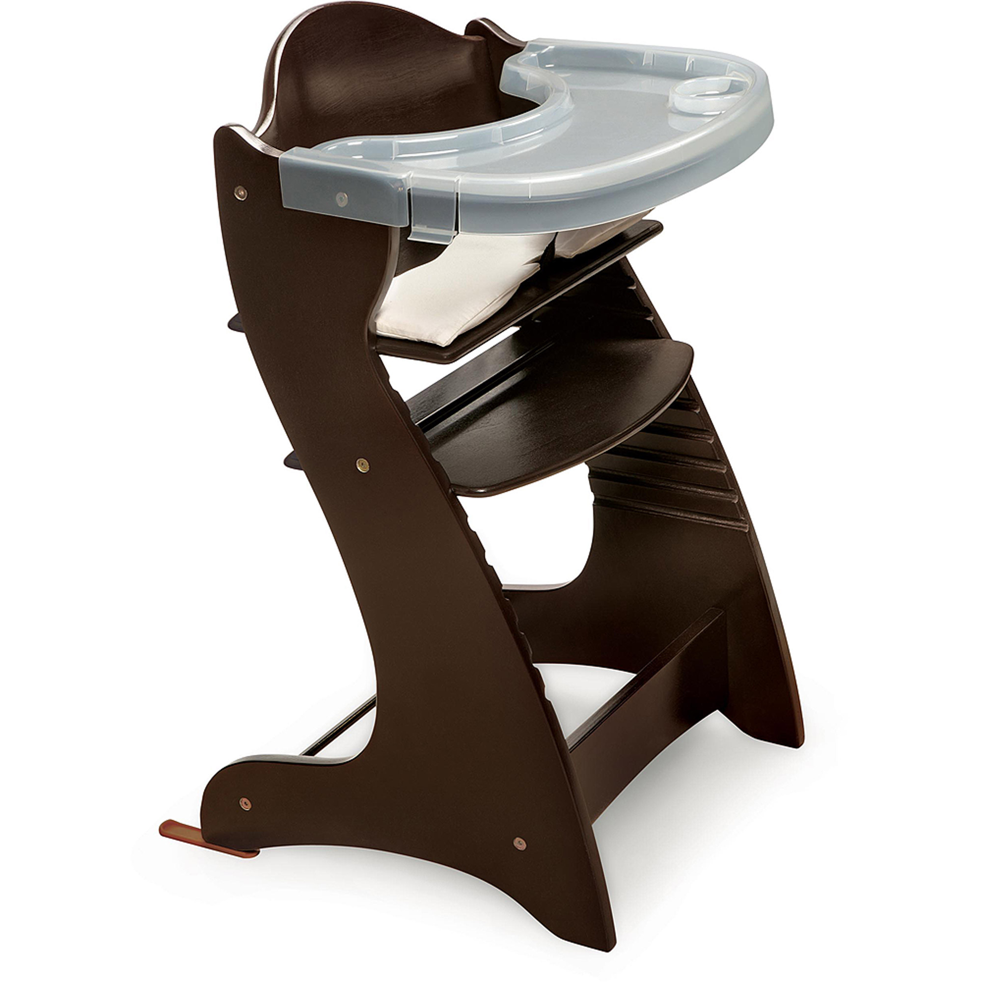 Badger Basket - Wooden High Chair, Espresso