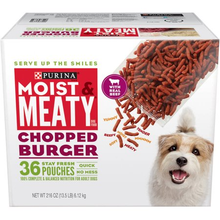Meaty Burger Dog Food