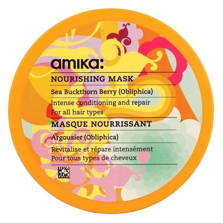 ($28 Value) Amika Nourishing Hair Mask, 8.45 oz