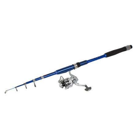 Unique bargains 7ft 5 sections carbon fiber telescopic for Blue fishing rod