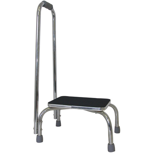 Foot Stool with Support Handle