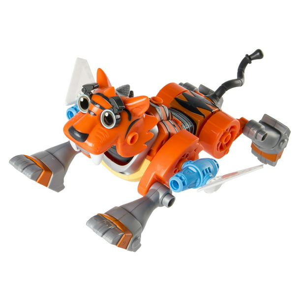Rusty Rivets Tigerbot Building Set With Lights And Sounds For Ages 3 Up Walmart Com