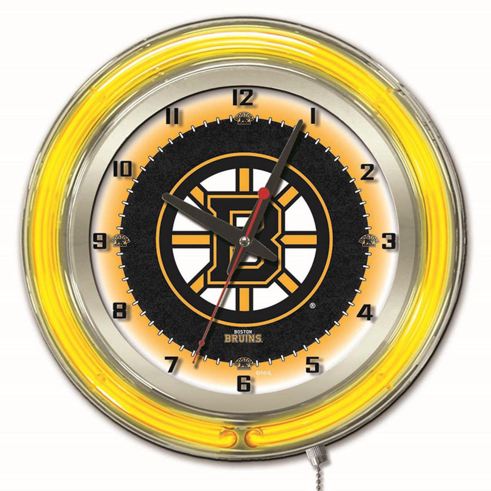 Holland 19 in. NHL Wall Clock