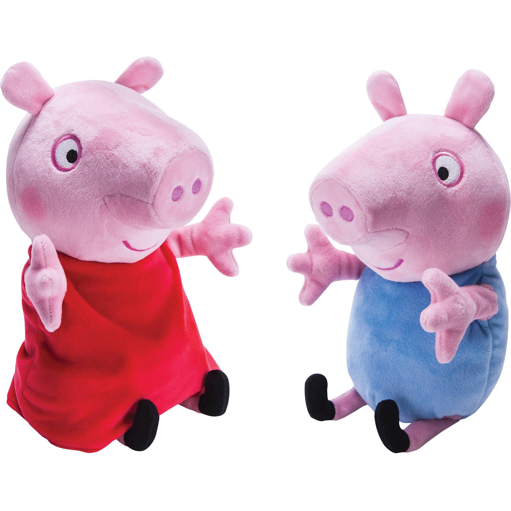 Peppa Pig Giggle N' Wiggle Peppa and George
